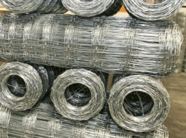 Galvanized Hingle Joint Farm Fencing