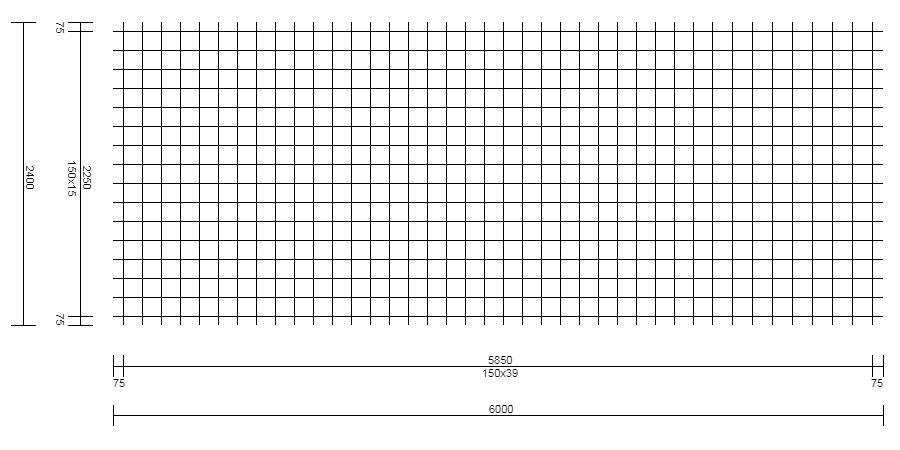 Malla Electrosoldada – Tipo FCQ