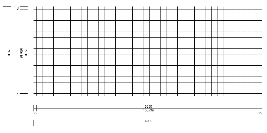 Treillis Soudé – Type FCQ