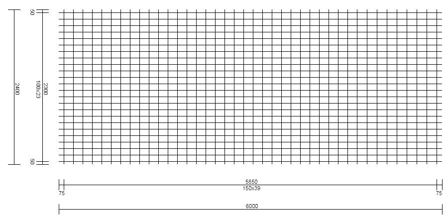 Malla Electrosoldada – Tipo FNC