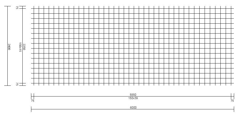 Treillis Soudé – Type FND