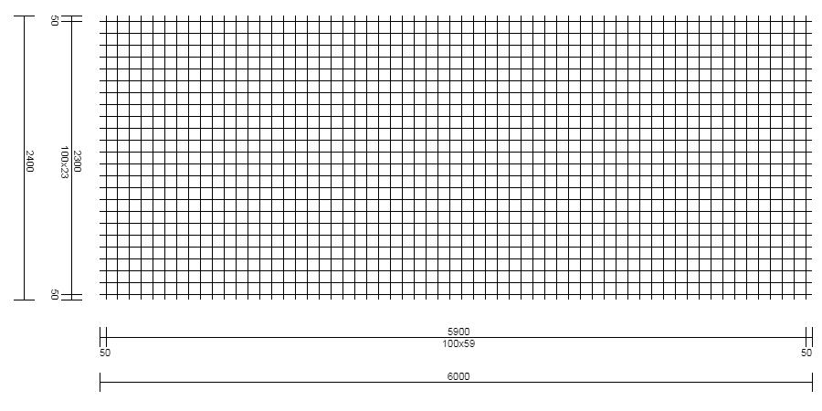 Treillis Soudé – Type FNQ